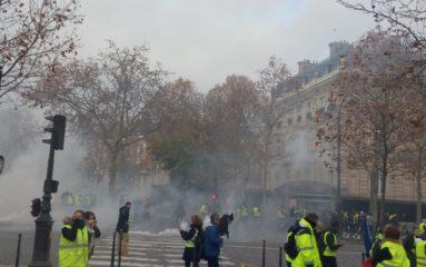 Pluie de lacrymogènes sur les Champs: quelle incidence?