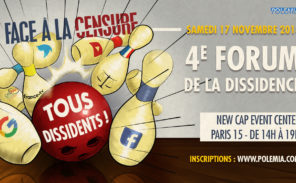 Samedi 17 novembre: 4e Forum de la Dissidence