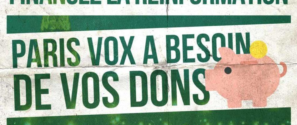 Pour Noël: n'oubliez-pas Paris Vox!