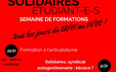 «Solidaires» à Sciences Po: le sociétal plus que le social!
