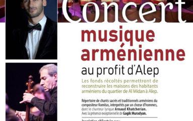 Un concert arménien pour Alep
