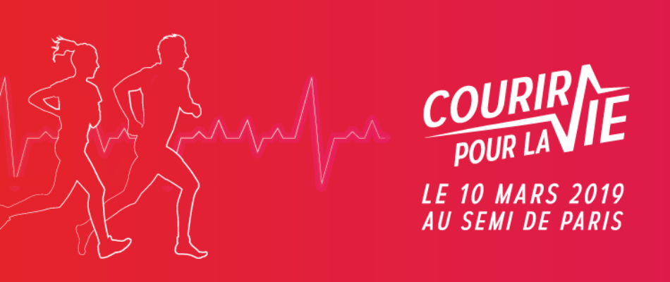 «Courir pour la vie», le 10 mars à Paris