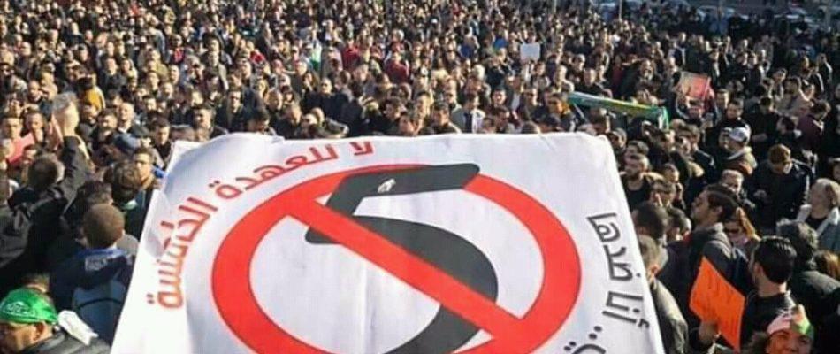 Manifestation anti-Bouteflika à Paris