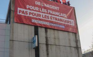 Génération Identitaire occupe la CAF de Bobigny !