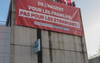 Génération Identitaire occupe la CAF de Bobigny!