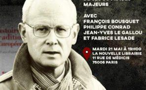 21 mai: Hommage à Dominique Venner