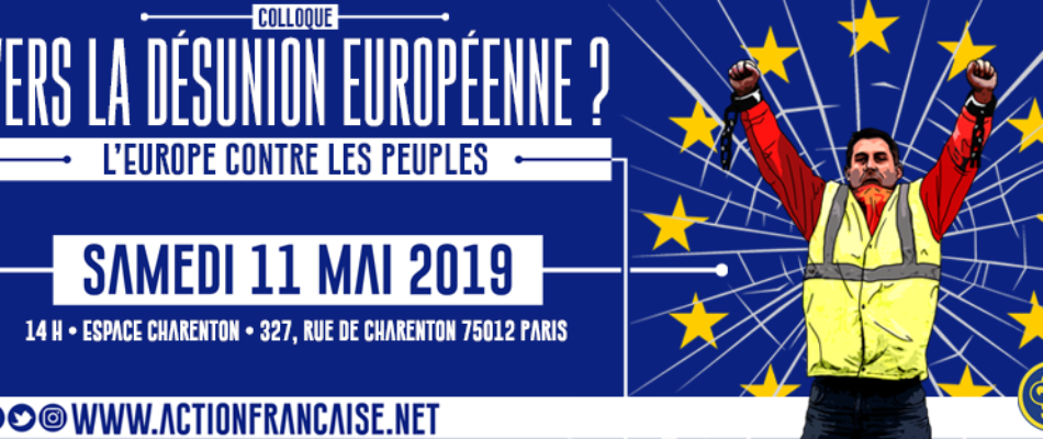 L'AF en colloque, «Vers la désunion européenne?»
