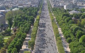 Champs-Elysées piétons le 5 mai