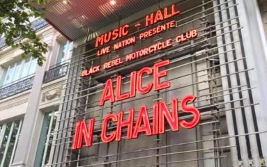 Alice In Chains à l'Olympia