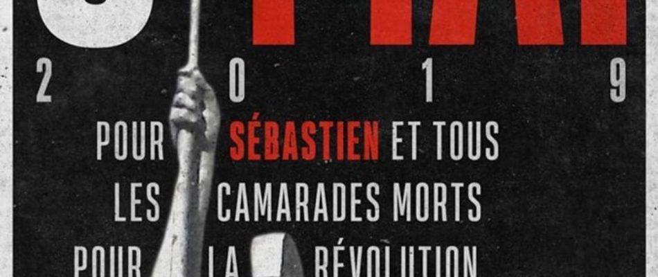9 mai: Hommage à Sébastien Deyzieu