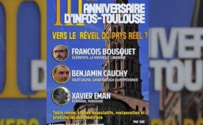 Infos-Toulouse fête ses trois ans !