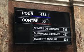 Loi Avia: seulement 33 députés votent contre