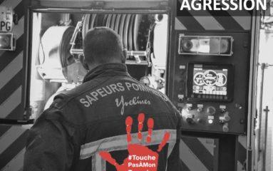 78: Des pompiers agressés par la personne qu'ils venaient aider…