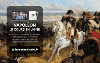 Un nouveau cours en ligne sur Napoléon