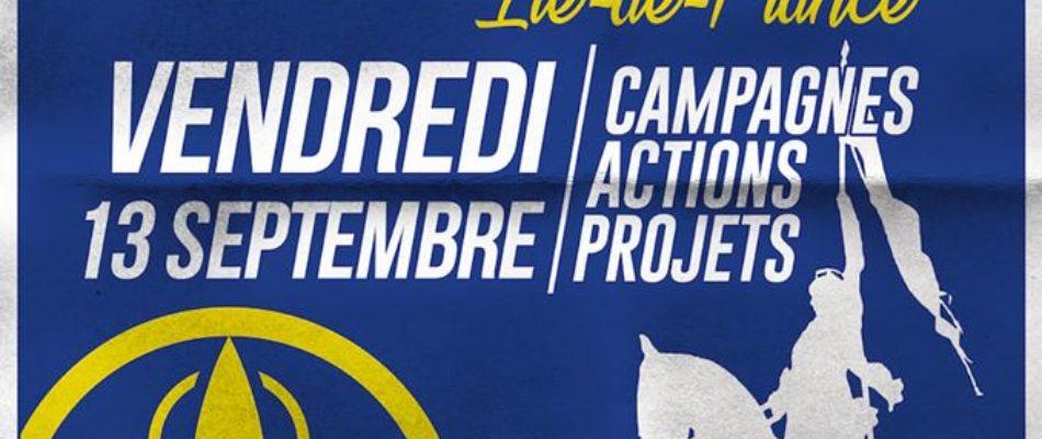 L'Action Française IDF fait sa rentrée!