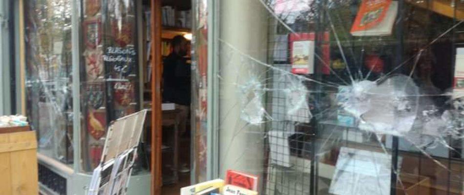 La Nouvelle Librairie à nouveau attaquée
