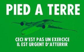 «Extinction Rébellion» contre les avions!