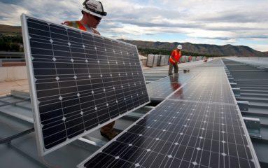 Panneau solaire: prioritaire pour les zones de bureau!