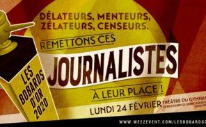 "Bobards d'Or: ""Recouper les axes principaux de la propagande médiatique"""