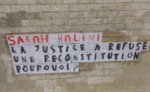 A Paris, des collages pour dénoncer le «déni de justice» dans l'affaire Sarah Halimi