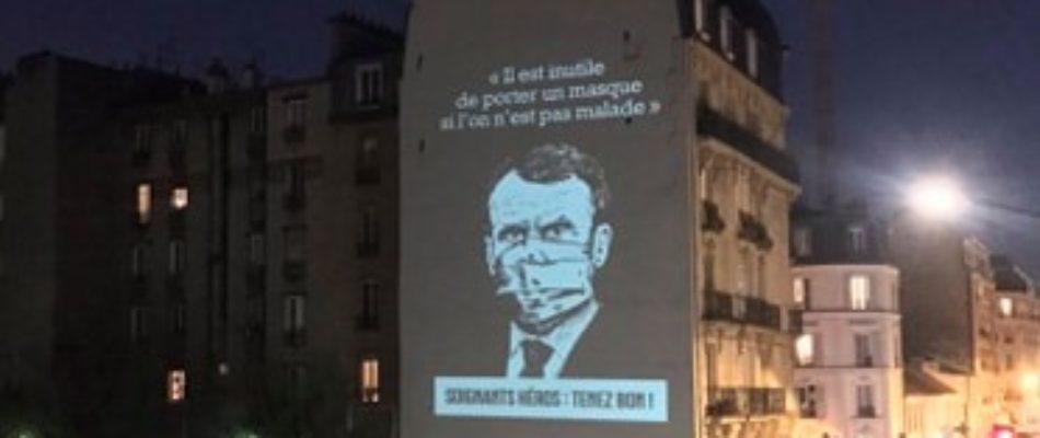 «Murde20h»: un Clichois rend quotidiennement hommage aux soignants grâce à une projection