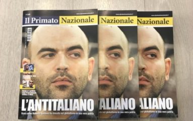 """Adriano Scianca: """" le souverainisme a crée un langage, une façon de communiquer mais pas une réelle alternative à l'establishment"""""""