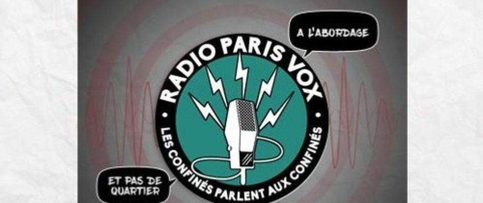 Radio Paris Vox: s'engager !
