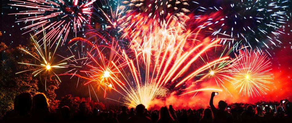 14 juillet, un feu d'artifice sans public mais symbolique!