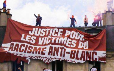 Racisme anti-blanc: les Identitaires s'invitent à la manifestation «Justice pour Adama»!