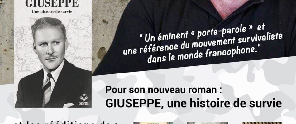 Piero-San Giorgio: une référence du «survivalisme» en dédicace à Paris