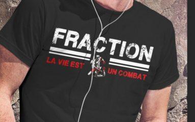 Musique: une compilation et un tshirt pour le retour de  «Fraction»!