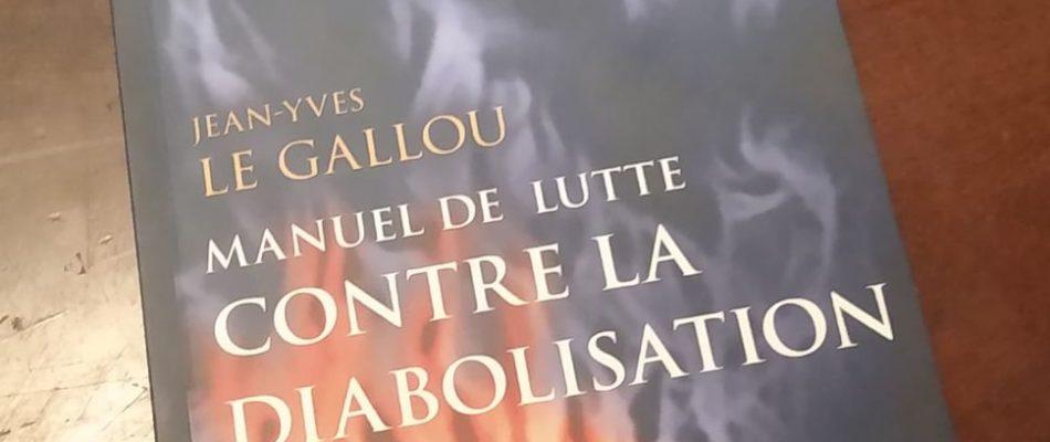 Lutter contre la diabolisation avec J-Y Le Gallou.