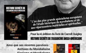 Pierre Hillard en dédicace à la Librairie Vincent