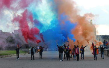Arménie: mobilisation parisienne pour la République d'Artsakh