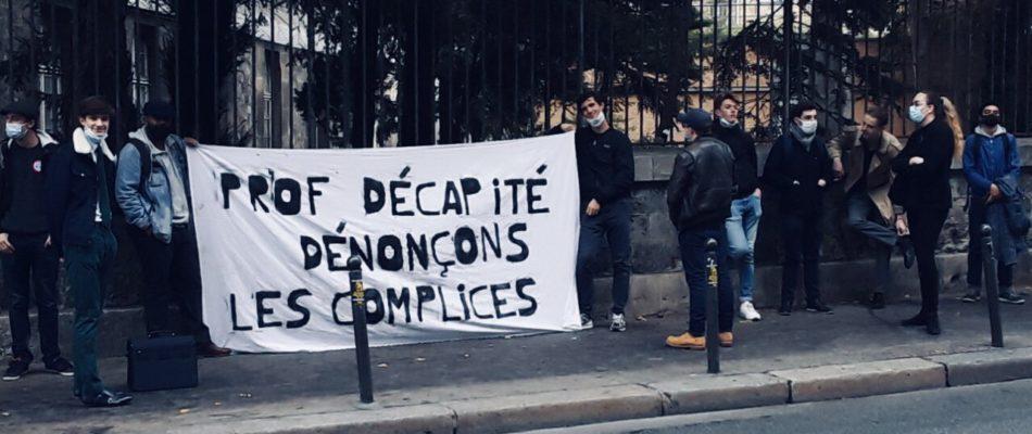 La Cocarde Etudiante souhaite dénoncer les complices de l'islamisme