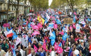 """10 octobre: Les """"antifas"""" veulent parasiter La Manif pour Tous."""