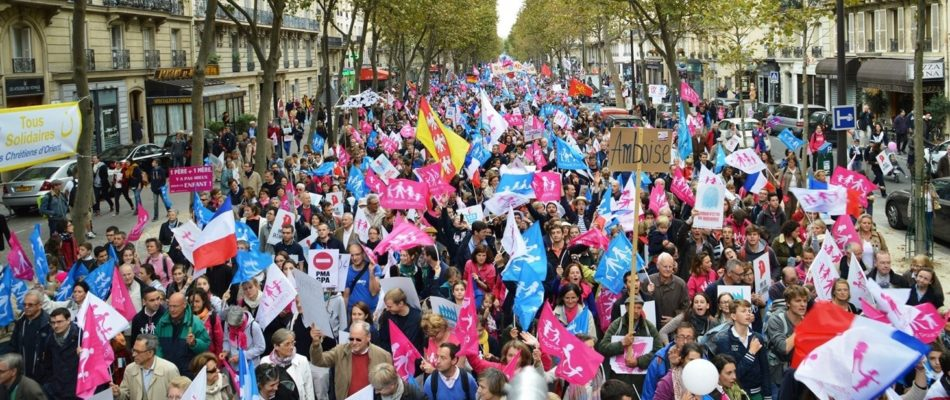 10 octobre: Les «antifas» veulent parasiter La Manif pour Tous.
