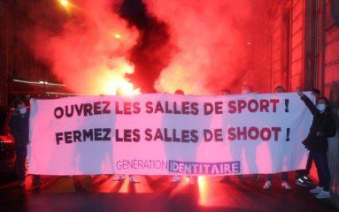 Génération Identitaire Paris s'invite à la salle de shoot