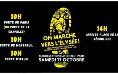 Marche nationale des «Sans Papiers»: l'Etat provoqué!