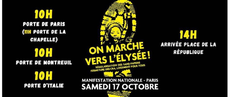 Marche nationale des «Sans Papiers»: l'Etat provoqué !