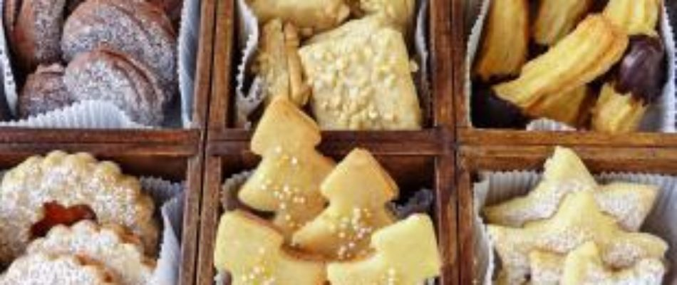 Préparer Noël: les petits gâteaux décoratifs