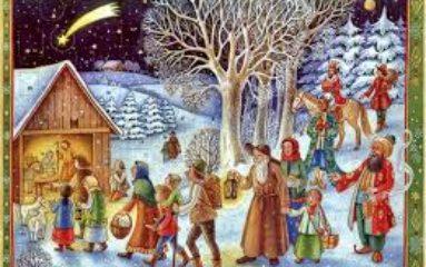 Préparer Noël: le calendrier de l'Avent
