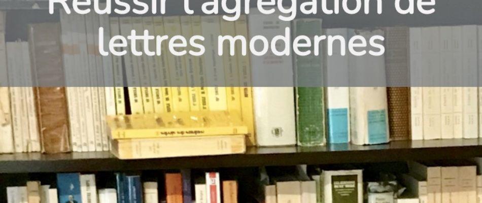Concours: préparer au mieux l'agrégation de Lettres modernes