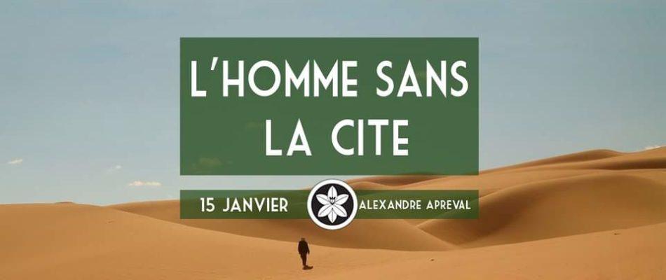 «L'Homme sans la cité»: nouvelle conférence de Dextra