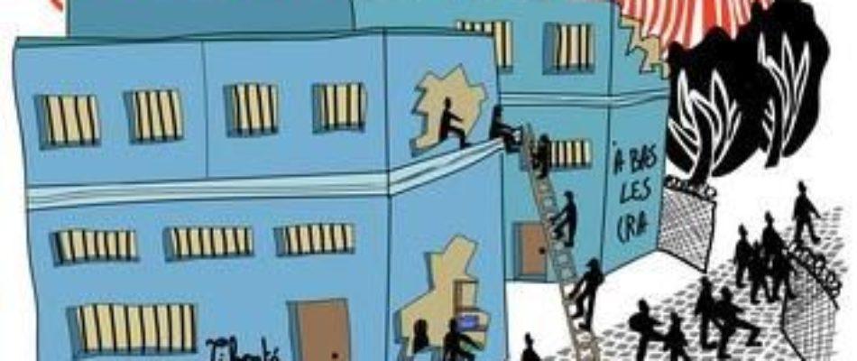 L'extrême gauche se mobilise pour la fermeture des centres de rétention