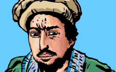 Une allée Commandant Massoud près des Champs-Élysées