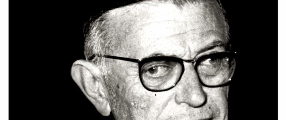 Jean-Paul Sartre en une d'une revue royaliste !
