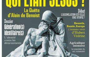 Jésus, Russie, Rwanda, assimilation, agriculture… le nouveau numéro de la revue Eléments est sorti !